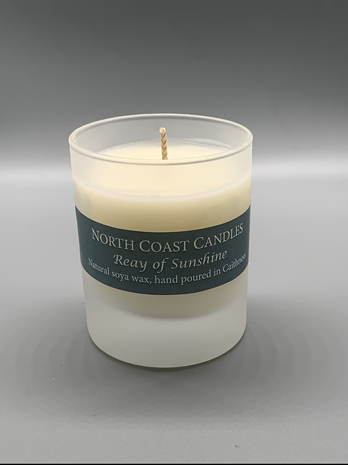 Reay of sunshine soya wax candle