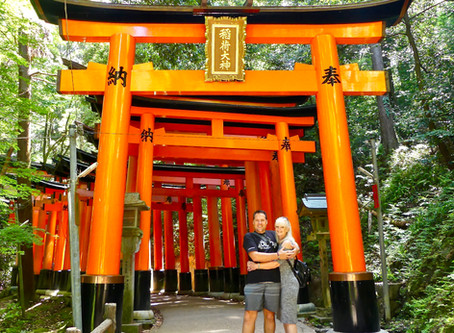 Fushimi Inari Shrine - 'torii' gates