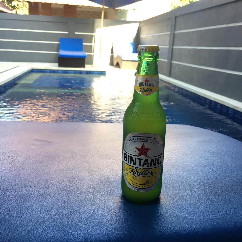 Bintang by pool