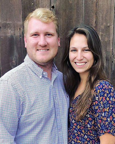 Meet our founders! Matt and Kelsey McAfe