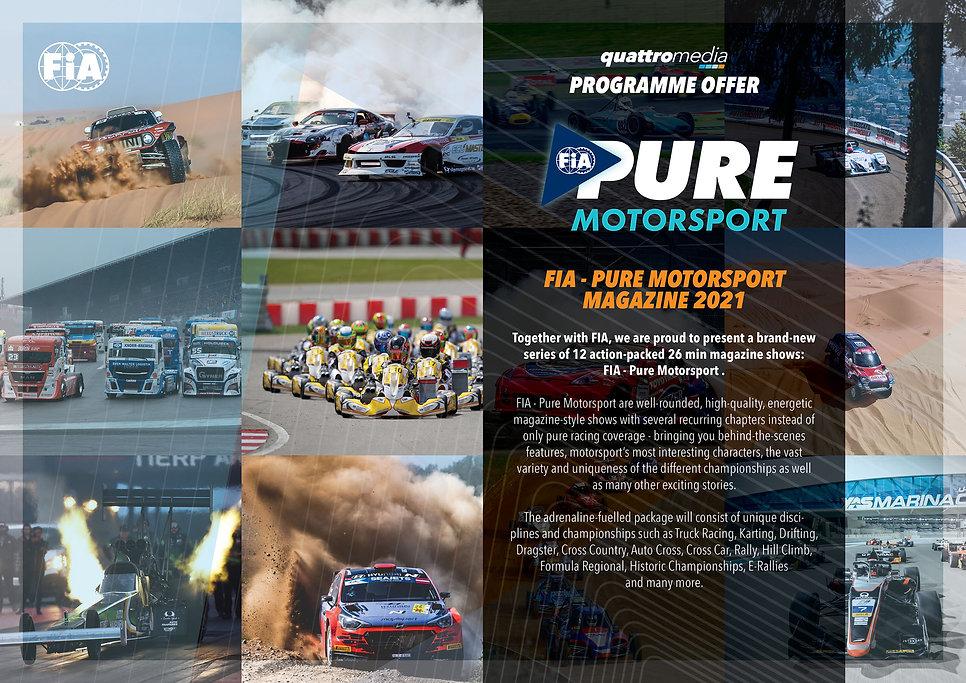 Fia Pure Motorsport_ProgrammeFolder_2021