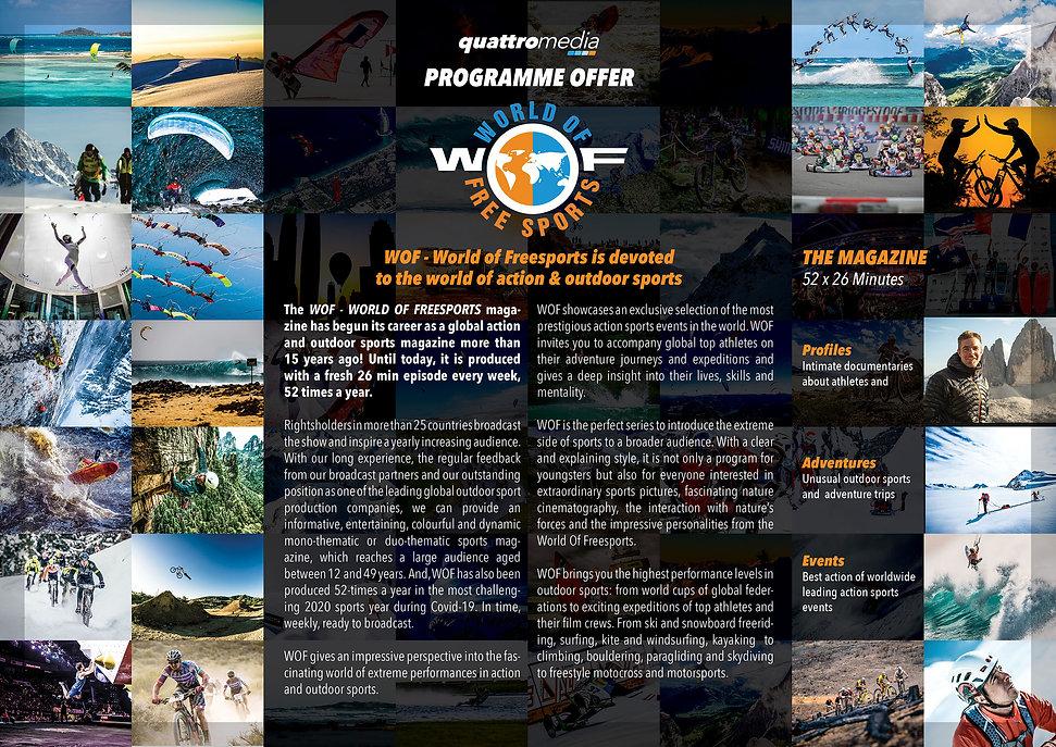 quattro media WOF Programme Offer Folder