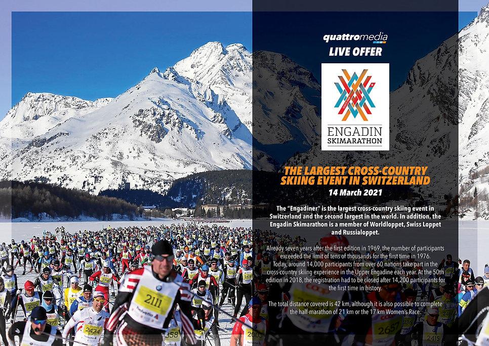 quattro media Engadin Skimarathon Progra