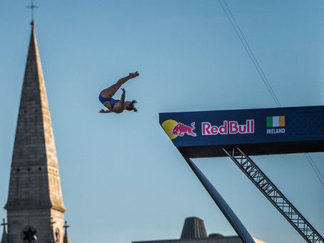 Red Bull Cliffdiving World Series Dublin