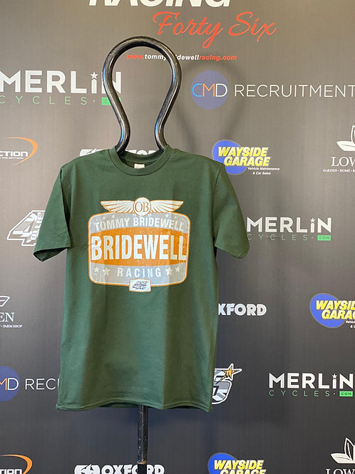 Tommy Bridewell TB46 Green Vintage T-Shirt