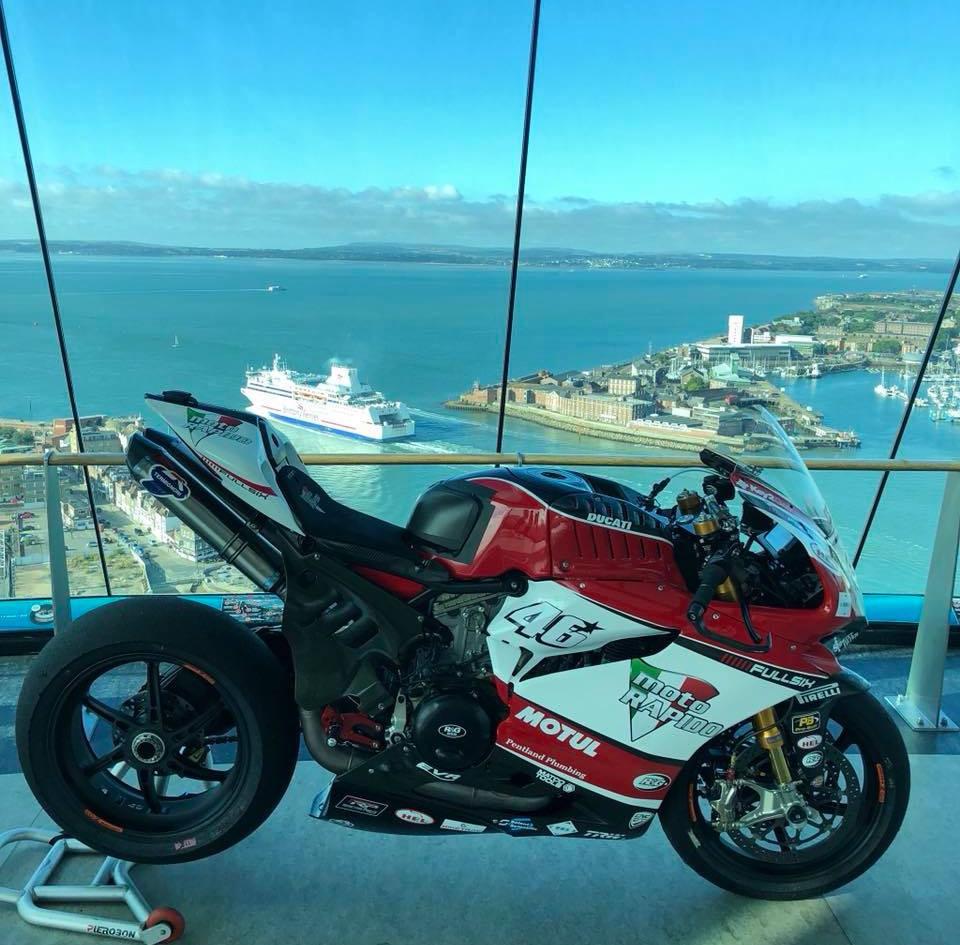 Tommy Bridewell Racing | British Superbike Racing | Our Sponsor - Moto Rapido Racing