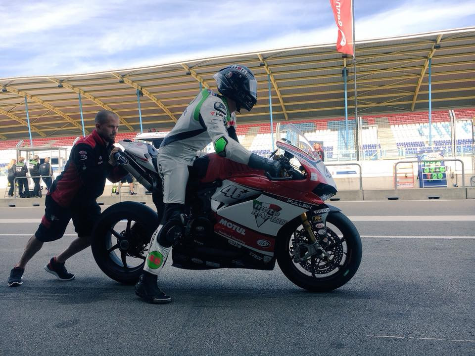 Tommy Bridewell Racing | British Superbike Racing | On the Track
