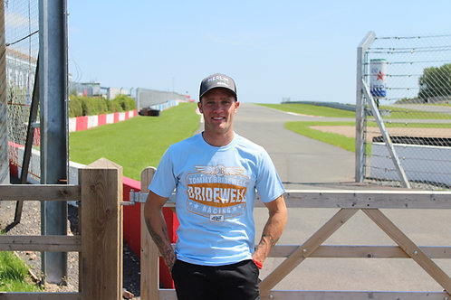 Tommy Bridewell TB46 Light Blue Vintage T-Shirt