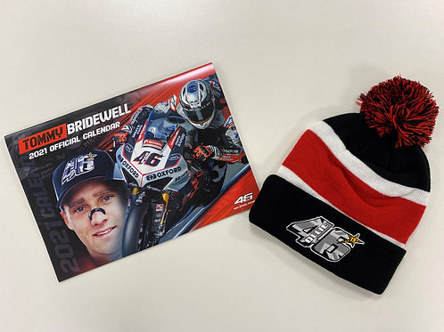 TB46 2021 Calendar & Bobble Hat
