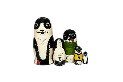 copy of Funny little cats nesting dolls