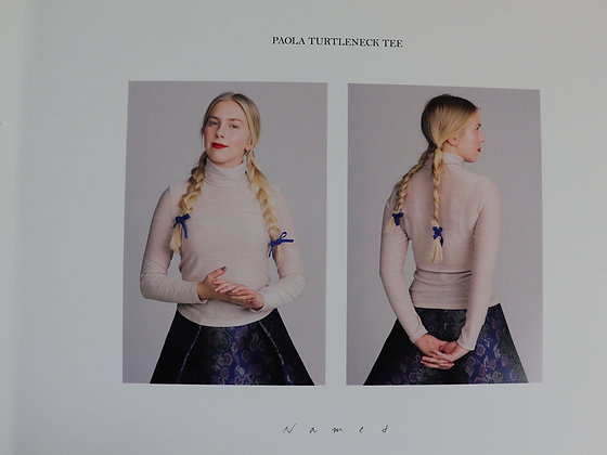 Paola Turtleneck Tee