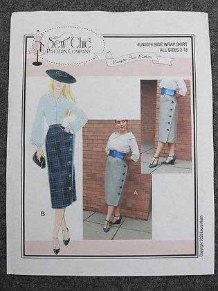 Side Wrap Skirt