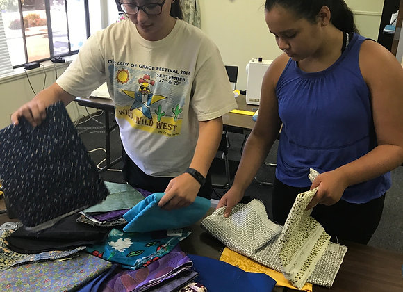 After School Teen Sewing