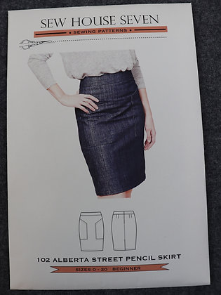 Alberta Street Pencil Skirt