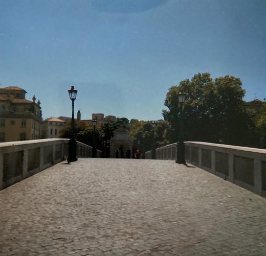 Ponte Sisto. Roma.