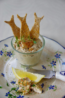 Mackerel Pate starter or have it with your afternoon Tea.