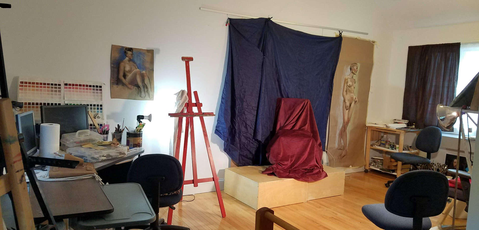 Private Studio for Life Drawing