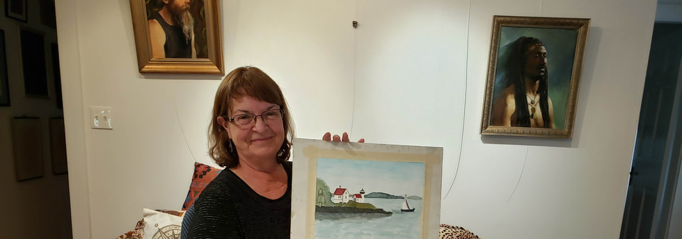 Betty's First Watercolor, Class in the G