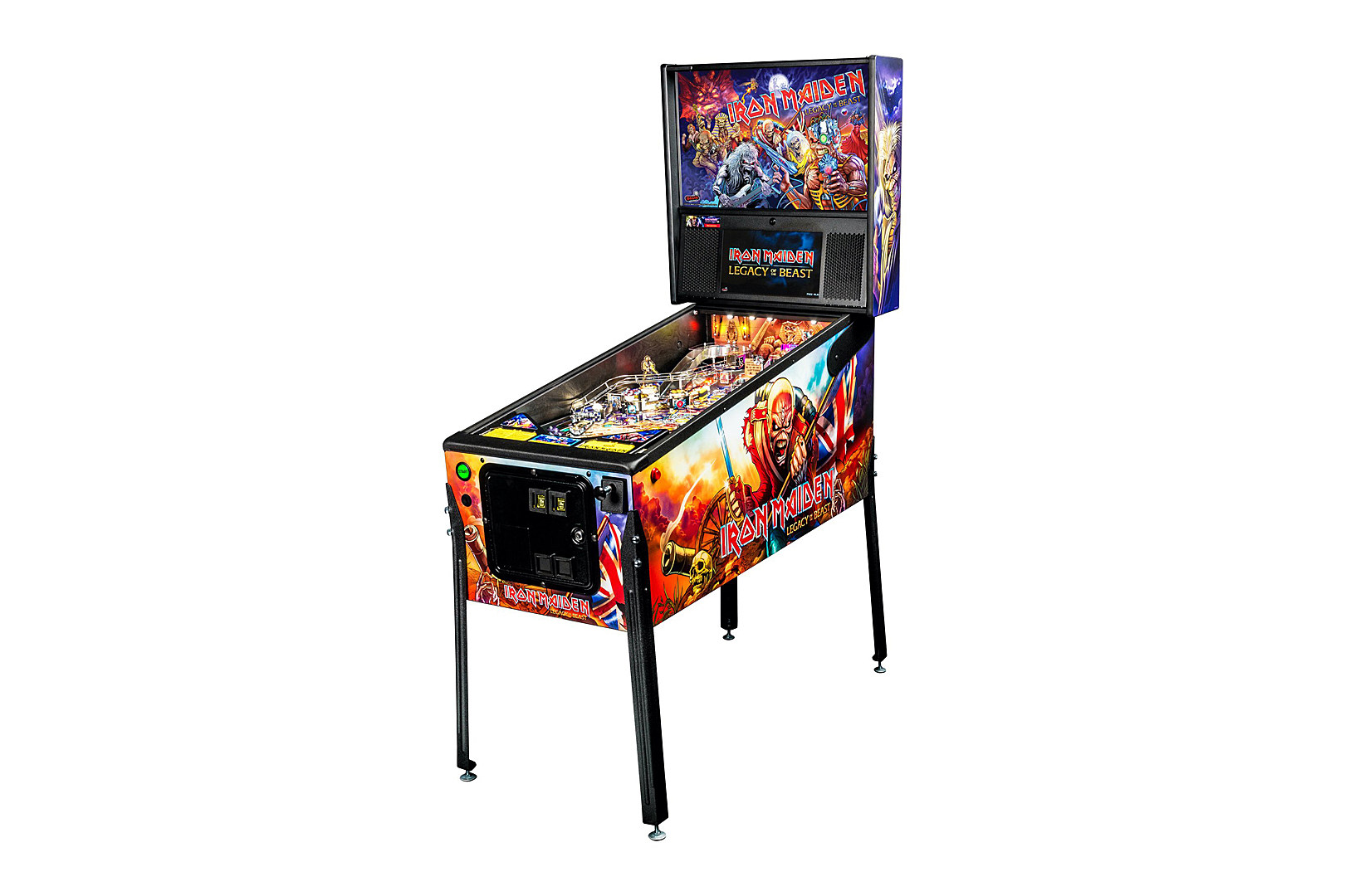 Iron-Maiden-Pinball-Machine