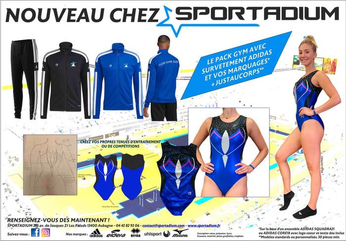 """Pack """"Spécial Club de Gymnastique"""""""