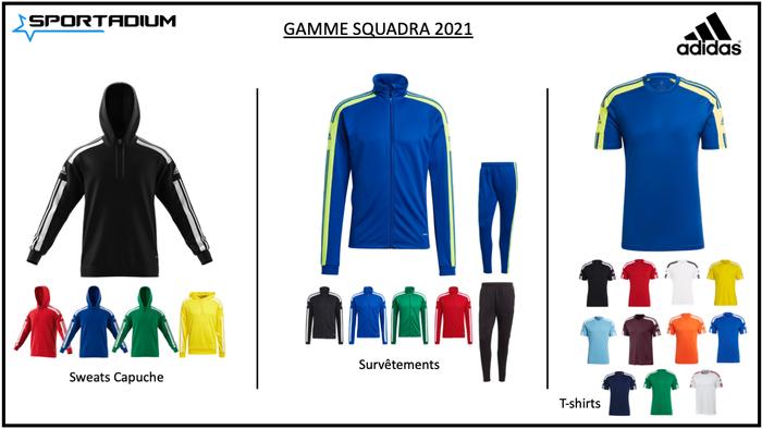 Nouvelle gamme SQUADRA Adidas 2021