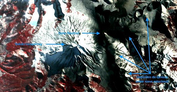 Image Satelital Cono Navidad