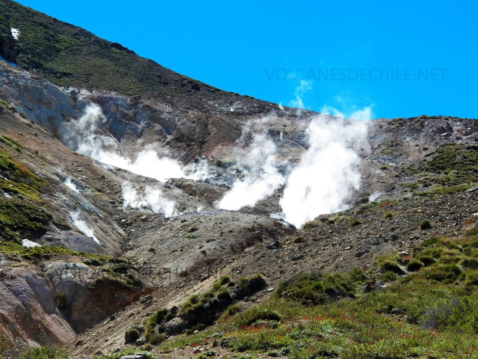 Campo de Fumarolas Volcánicas