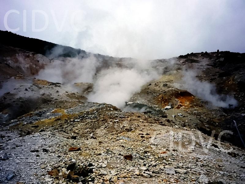 Fumarolas Volcánicas