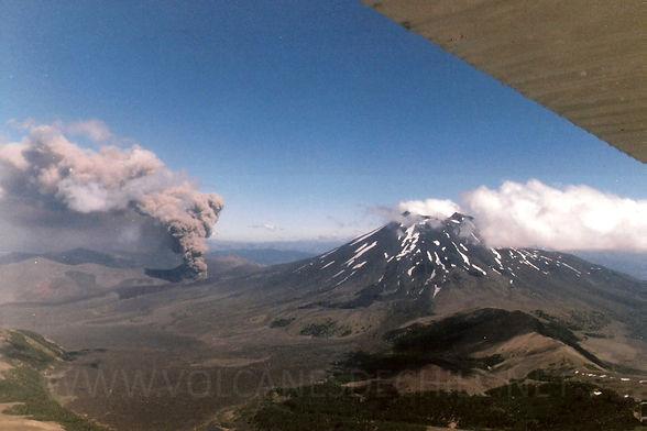 Volcán Navidad. Ciclo Eruptivo 1988-1989