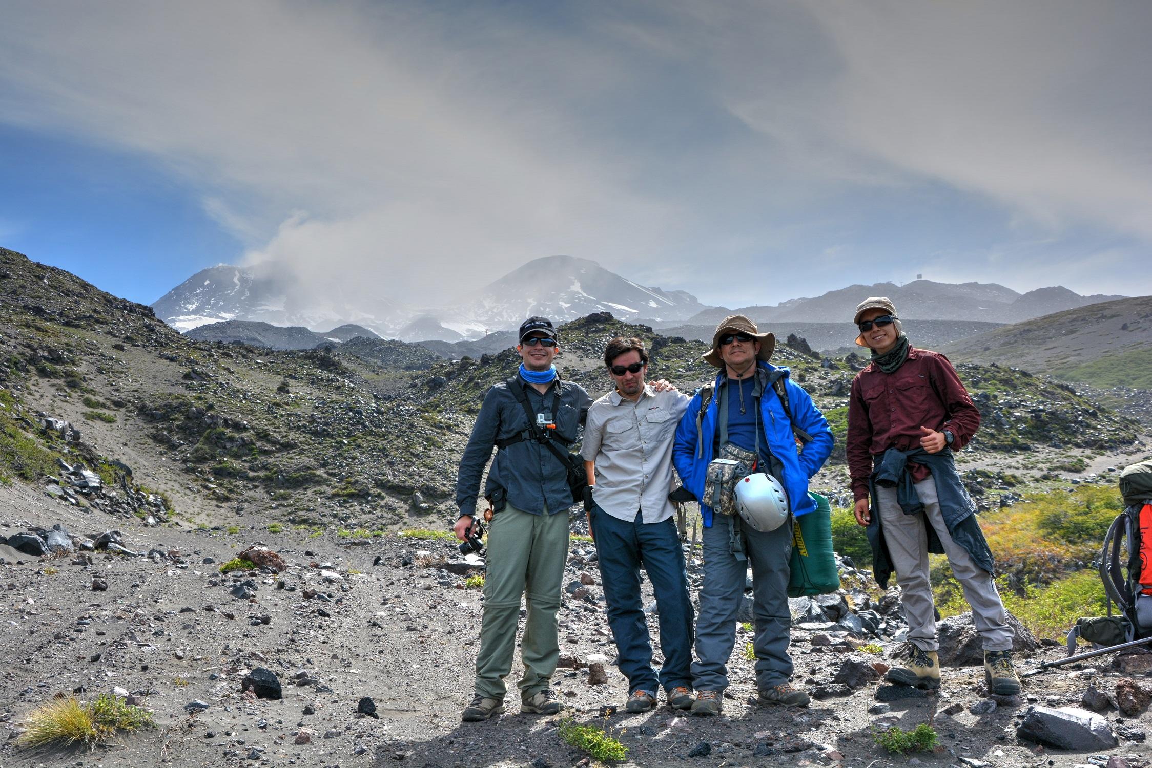 Expedición Nevados de Chillán 2016