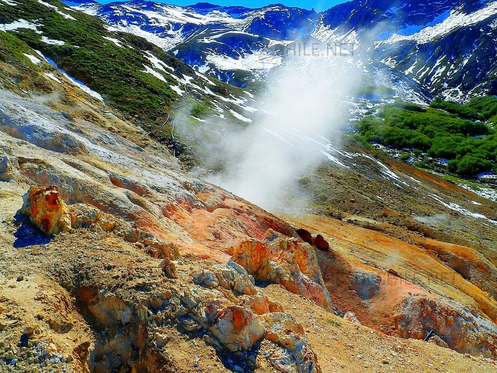 Fomarolas Volcánicas