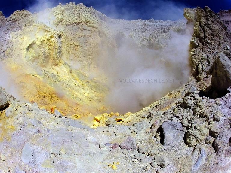 Cráter Volcán Irruputuncu