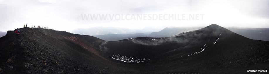 Panorámica Actual Cráter Volcán Nvidad