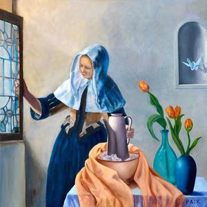 Bird Visiting (for Vermeer)