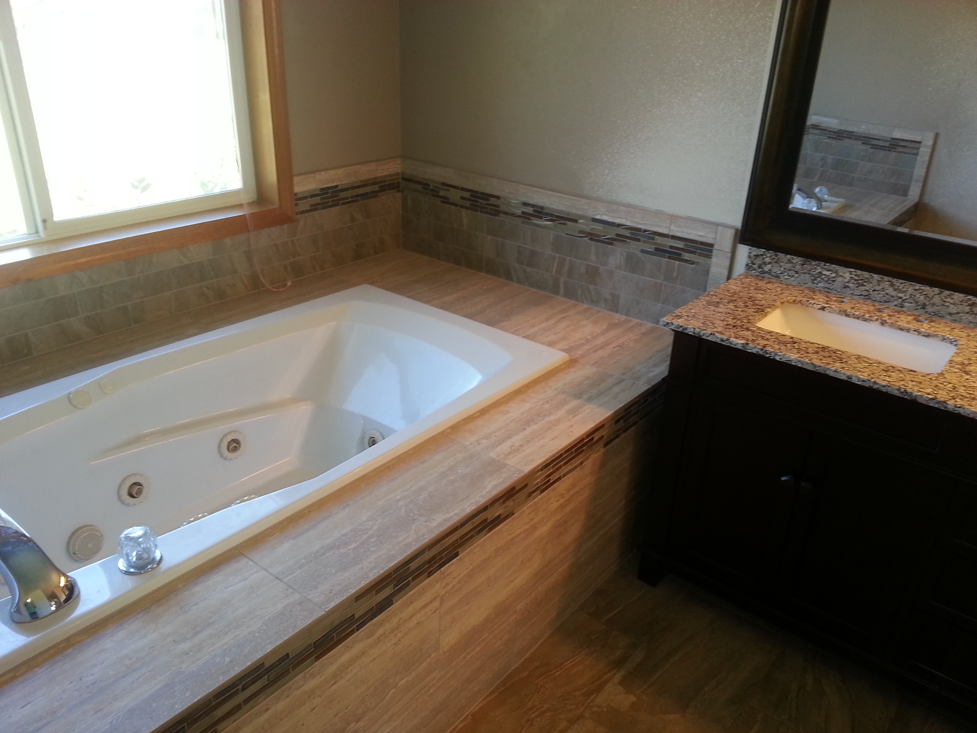 Tile Tub and floor
