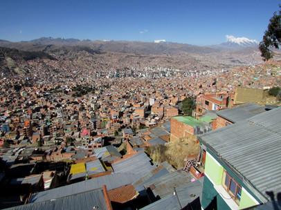 La Paz seen from El Alto