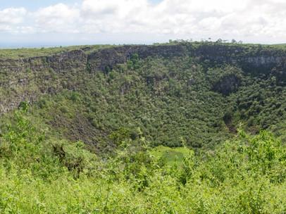 Crater near Cerro Meso