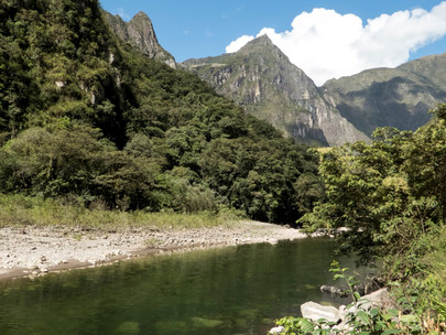 Valley around Machu Picchu