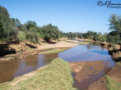 Levubu River at Pafuri