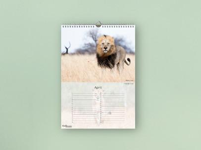 Birthday Calendar - Africa