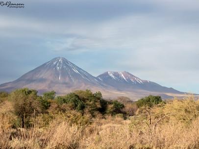 Volcanoes around San Pedro