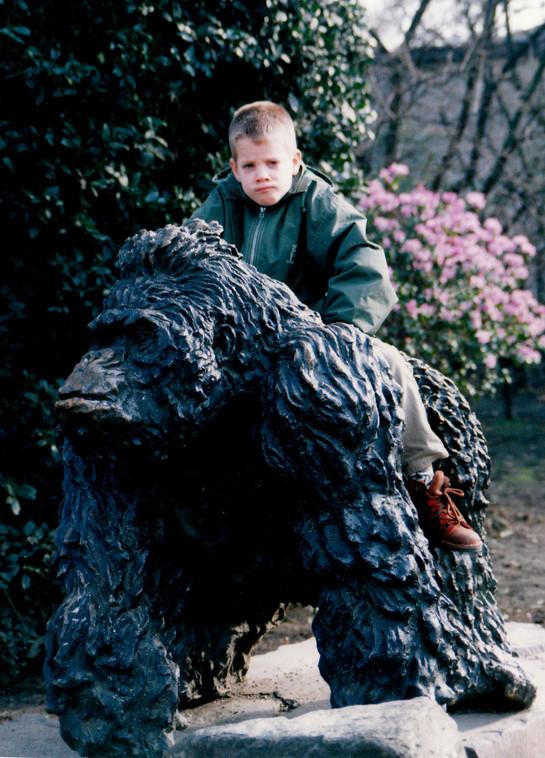 1998 februari Rob gorilla.jpg