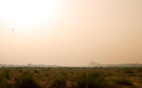 Landscape with Taj Mahal