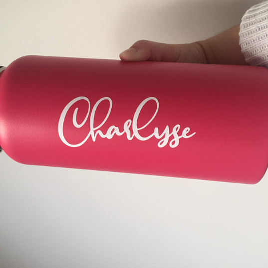 Water Bottle Decal
