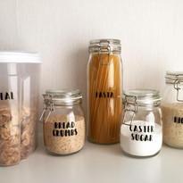 Pantry Decals