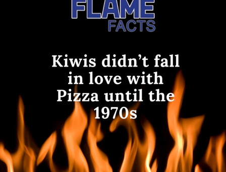 Kiwis Didn't fall in love with Pizza Until 1970s..