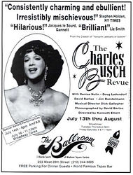 The Charles Busc Revue at the Ballroom