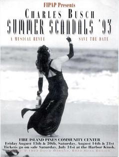 Charles Busch Summer Scandals '93