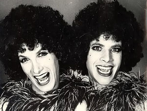 Sister Act by Charles Busch (l to r) Charles Busch, Edward Taussig