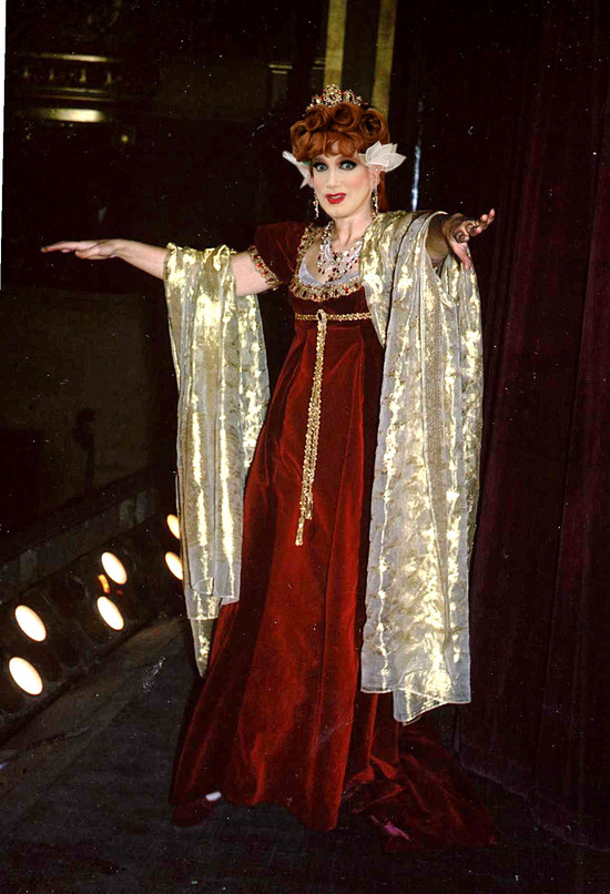 Charles Busch as Tosca